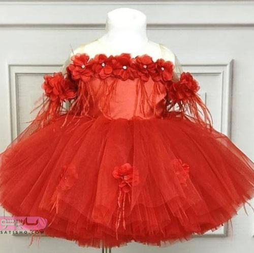 عکس لباس عروس بچه گانه شیک