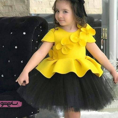 لباس پرنسسی بچه گانه 2019