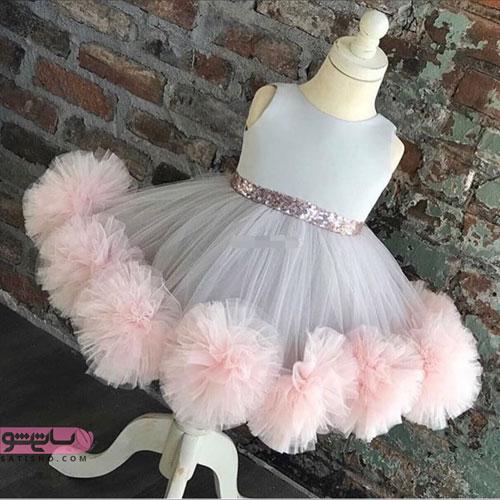 لباس عروس بچه گانه پرنسسی شیک و جذاب