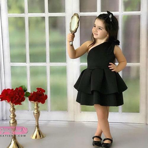 لباس عروس بچه گانه پرنسسی