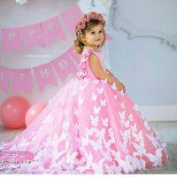 زیباترین عکسهای لباس پرنسسی دخترانه ۹۸ در مدلهای لاکچری