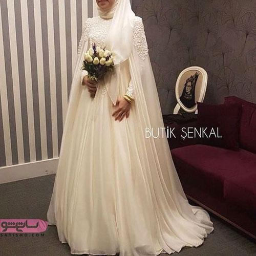 عکس لباس بسیار زیبا محجبه و پوشیده
