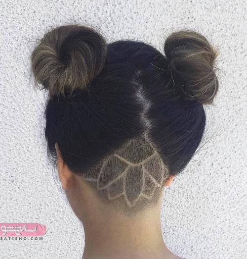 آندرکات خطی مدل موی خرگوشی دخترانه