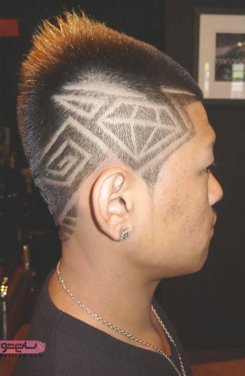 مدل مو کوتاه با آندرکات خاص و متفاوت در بغل سر