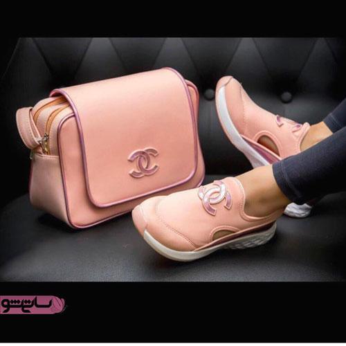 عکس ست کیف کفش دخترانه