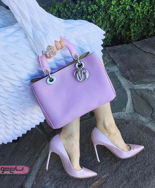 انواع ست کیف و کفش زنانه شیک مجلسی