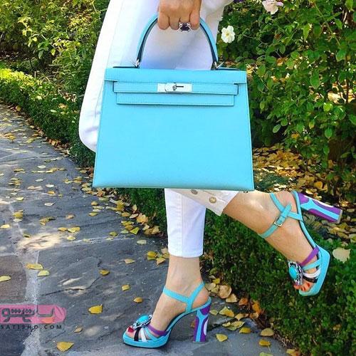 مدل های زیبا و دخترانه کیف و کفش برای عید نوروز