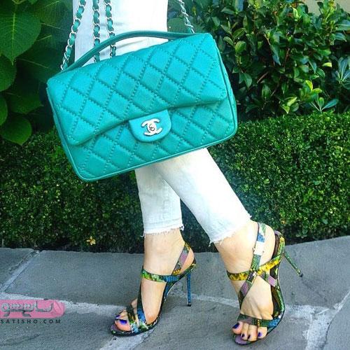 ست های زیبای کیف و کفش دخترانه