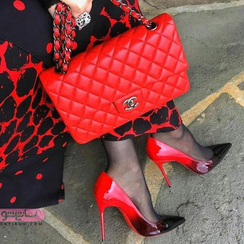 مدل های زیبا و دخترانه کیف و کفش