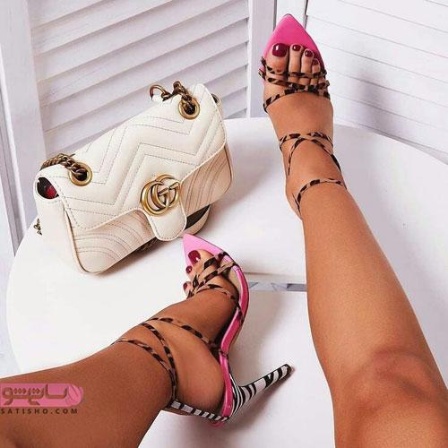 مدلهای شیک ست کیف و کفش زنانه