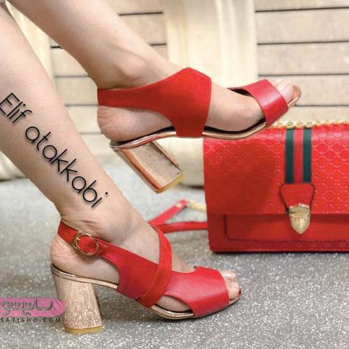 مدلهای جدید ست کیف و کفش چرم