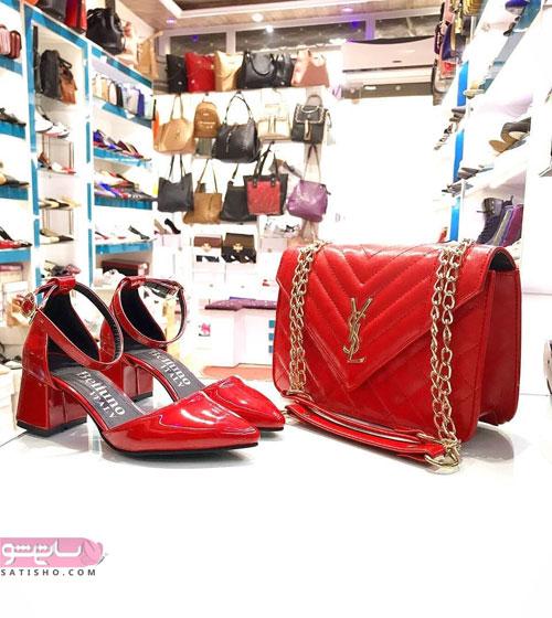 جدیدترین ست کیف و کفش دخترانه