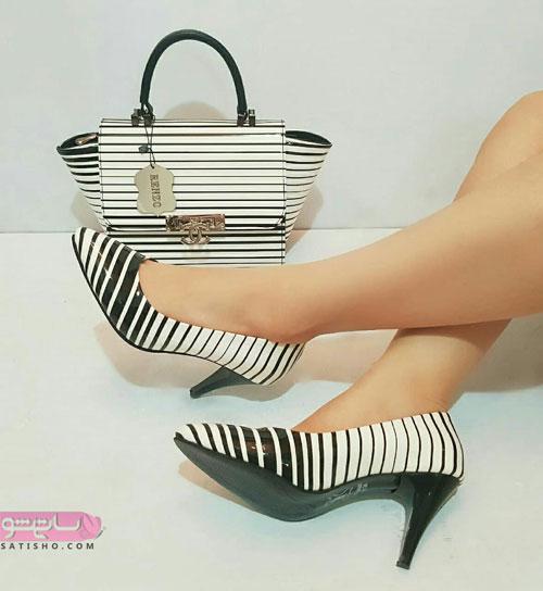 جدیدترین مدل کیف و کفش ست زنانه