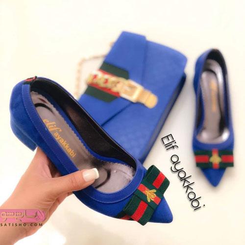 مدلهای ست کیف و کفش جدید