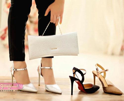 مدلهای ست کیف و کفش مجلسی