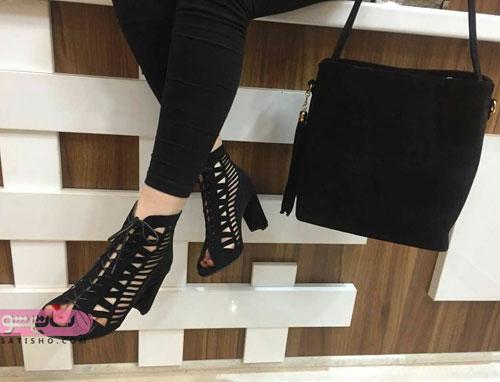 مدلهای ست کیف و کفش زنانه