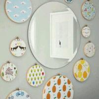 ایده های بسیار زیبا و شیک برای تزیین آینه با وسایل ساده (تصاویر)