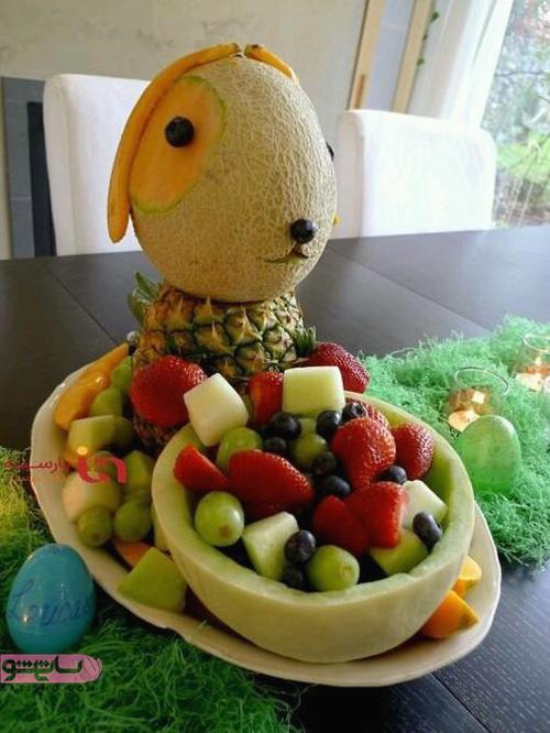 مدل تزیین میوه با انواع میوه های فصل