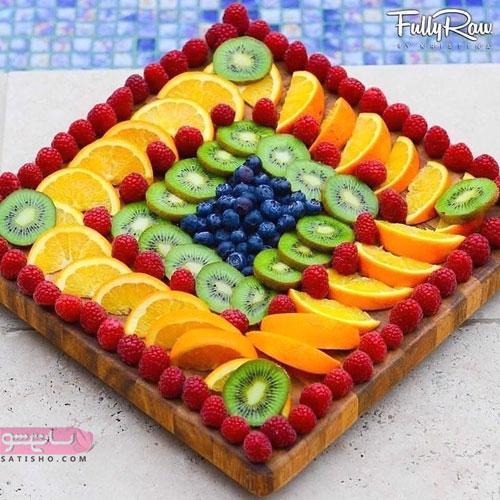 مدل جدید میوه آرایی 98