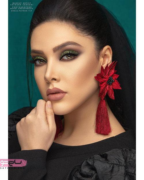 عکس از زیباترین مدل آرایش عروس ایرانی جدید 2019