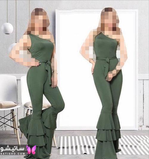 خرید اینترنتی لباس سرهمی زنانه مجلسی