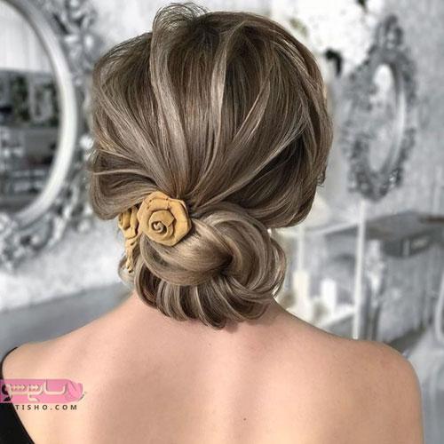 مدل موی بلند عروس 2019