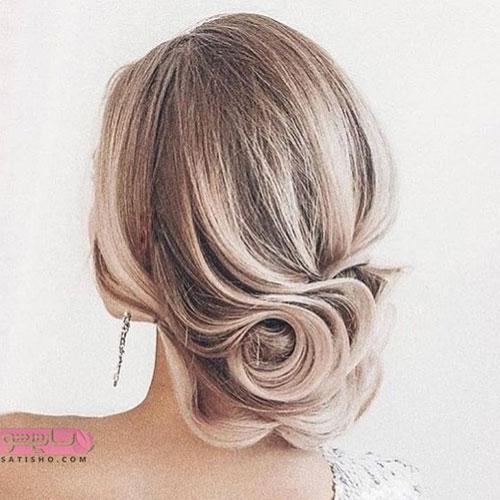 آموزش انواع مدل مو دخترانه برای عروسی
