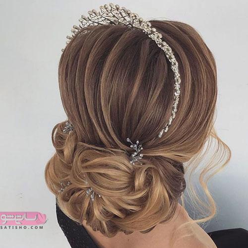 مدل شینیون کاغذی جدید با عروس