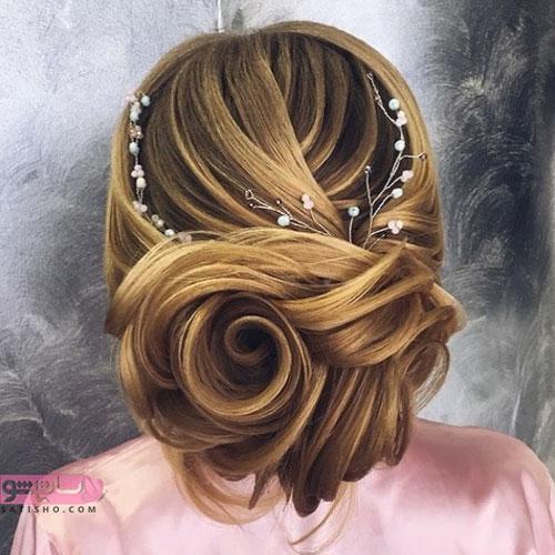 نمونه مدل مو برای جشن عروسی