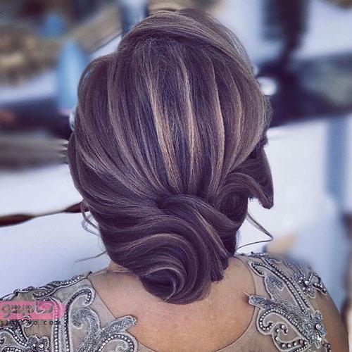 مدل مو دخترانه ساده برای عروسی