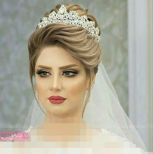 دختران زیبا و خوشگل با میکاپ هاي جدید عروس