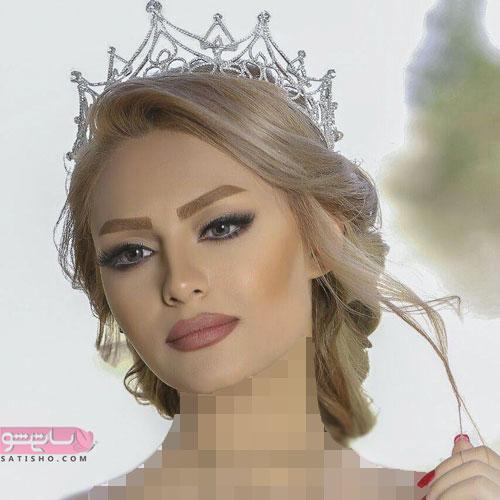 گریم عروس زیبا شینیون اروپایی جدید