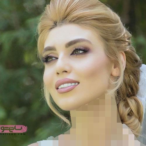 زیبا شدن صورت عروس با میکاپ عربی