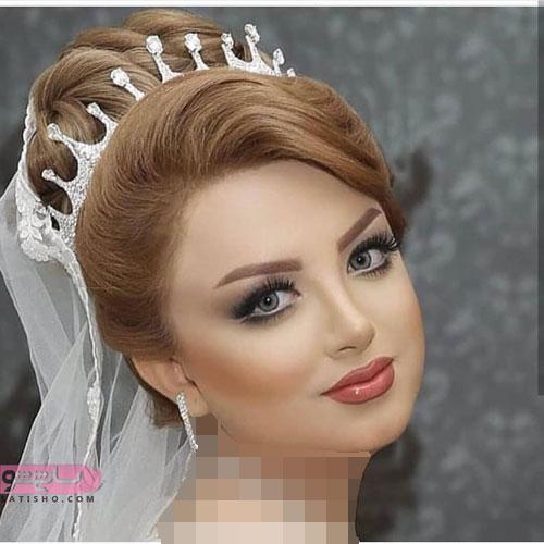 آرایش ساده برای عروس