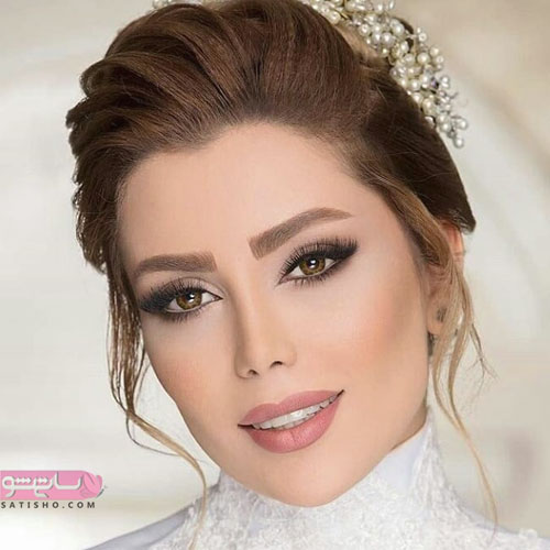 نحوه آرایش جدید عروس ایرانی 98
