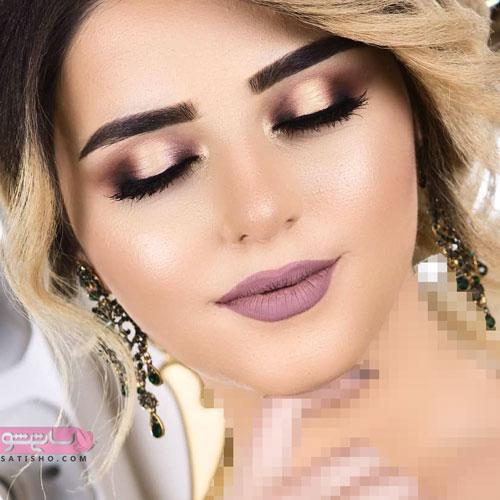 به روزترین آرایش چشم عروس جدید 2019