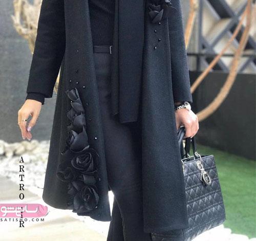 مدل آستین مانتو | ۵۵ عکس جدید از مدل آستین مانتو جدید و زیبا ویژه سال جدید ساتیشو