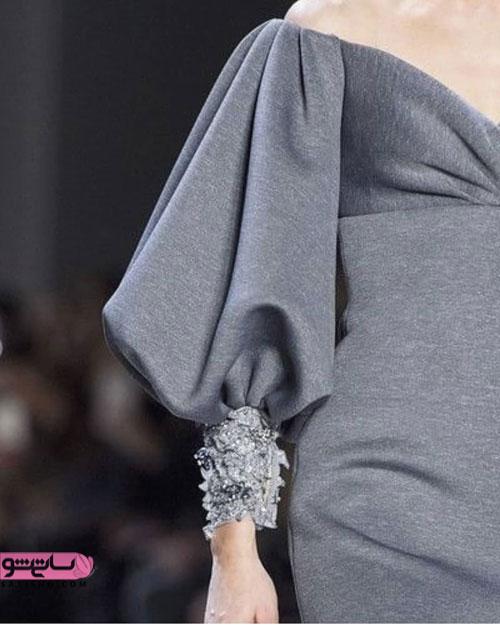 شیک ترین مدل آستین سنگ دوزی لباس گشاد