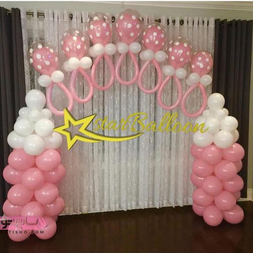 تزیین جشن تولد 98 و تولد آرایی 2019