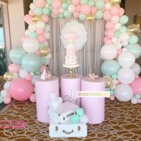 ایده های جذاب و خلاقانه بادکنک آرایی برای جشن تولد دخترانه