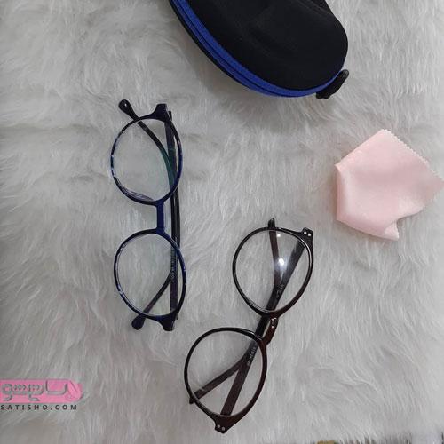 عینک برای صورت گرد و تپل