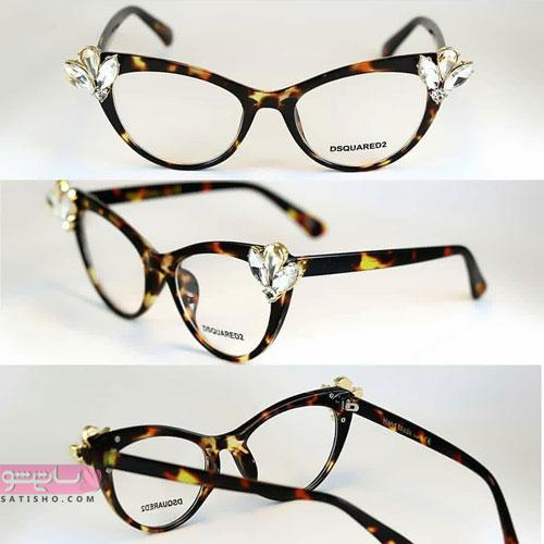 مدلهای عینک طبی دخترانه 98
