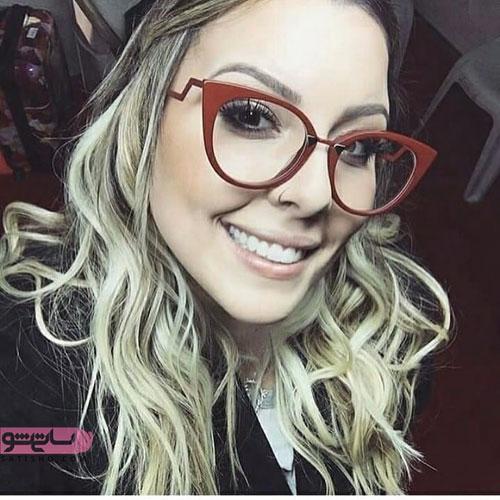 مدل فریم گرد عینک طبی زنانه گرد