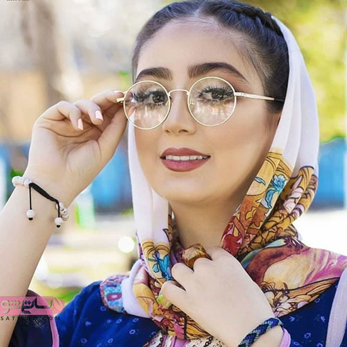 طرح عینک شیک دخترانه برای صورت های ظریف