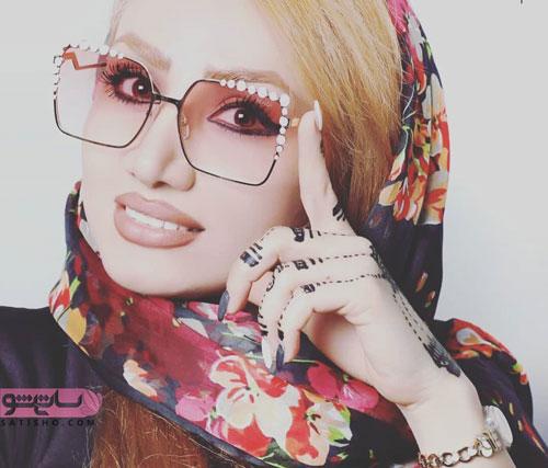 عینک طرح دار شیک مدل طبی دخترانه 98