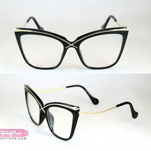 عینک طبی دخترانه 98 مدل گربه ای شیک
