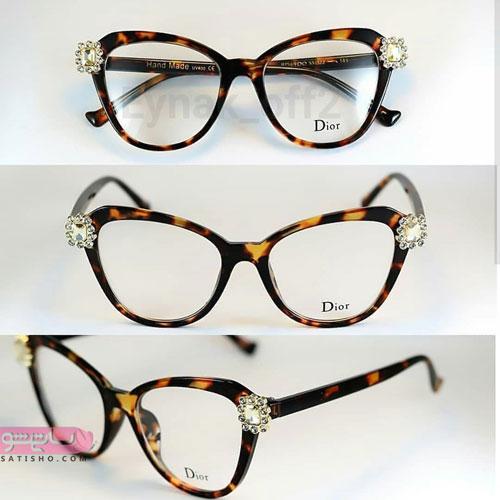 مدل عینک جدید و زیبا طبی دخترانه