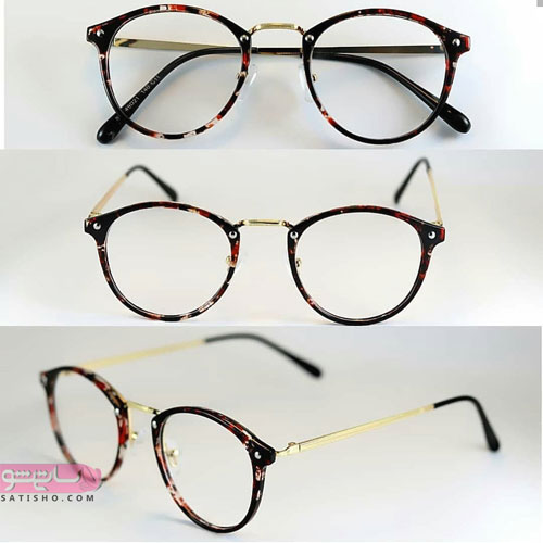 مدل عینک طرح کائوچو دخترانه طبی جدید 98