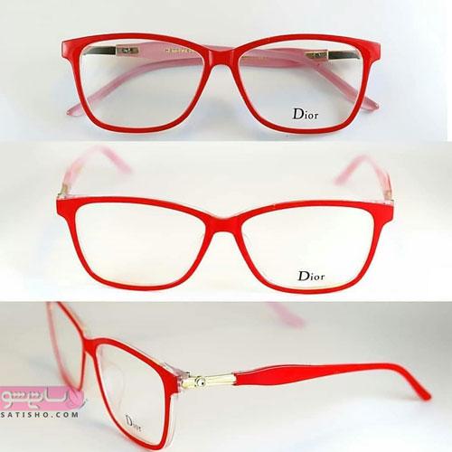 مدل عینک قرمز دخترانه