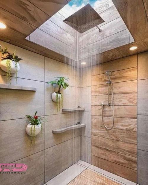 مدل های جدید دکوراسیون حمام لاکچری مد سال 2019